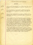 Amendments and By-laws of the First National Bank of Skowhegan
