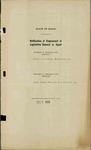Legislative Agents, Volume 1, 1926-1927