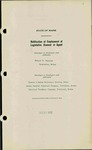 Legislative Agents, Volume 3, 1932-1933 by Secretary of State