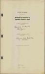 Legislative Agents, Volume 6, 1939-1940