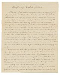 1837 Census - Receipt by the State of Maine Regarding Surplus Revenue