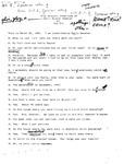 Oral History Transcription with Rella Gagnon Gessner by Rella Gagnon Gessner and Don Cyr