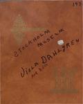 Stockholm Museum Scrapbook Collected by Viola Dahlgren