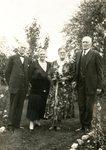 Peter & Charlotte Sodergren; Brita & Alfred Swenson