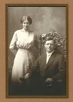 Wedding Portrait of Lottie Swenson & Carl Tjernstrom