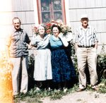 Sept. 1958 - Ernest, Gerda, Helen & Lawrence Gunnerson