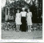 July 1944 - Anita Johnson; Leland Fogelin; Shirley Anderson (Sjostedt)