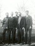 Eric Sandstrom; Eddie Swanson; Ansel Peterson; Melford Sjostedt; Everett Larsson.