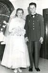Nov. 28, 1952 - Wedding photo of Marjorie Anderson & Edgar Strainge