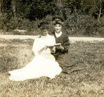 Alexina Anderson & Mabel Sodergren