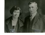 Fritz Anderson  and Lillian Landfors - Wedding Photo -  October 17, 1923