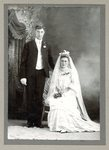 John Anderson  and Alma Peterson - Wedding Photo - July 6, 1905