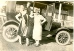 Jennie Antworth, Maude Burns and Frances Lausier - Autumn 1925
