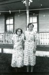 Louise Dahlberg and Nannie (Sodergren) Anderson