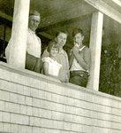 John Berquist, Vivian Stedt, Annie Berquist and Donald Mason