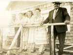 "Gösta (Happy) Anderson, Adele (Lind) Tall, Katherine (Palm) Carlstrom, Edith (Sandstrom) Johnson and ""Big"" John Anderson"