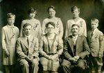 Erick & Laura Larson & Family - Back Row - Singne, Viola, Olga & Ruth; Front Row - Andrew, Laura, Erick & Ferd.