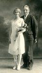 Erick Sandstrom & Astrid Anderson's Wedding - Nov. 28, 1928