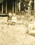 Jack Bishop & Sister, Audrey Bishop at Madawaska Lake - 1917