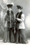 Ida (Anderson) Bruflat on left; Anna Lisa (Anderson) Ericsson on right