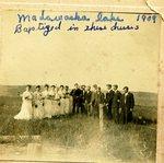 Madawaska Lake, Stockholm, ME - Baptism 1909