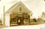 Arrowhead Store in Stockholm, ME - owned by Nicholai A Wessell. The store was located across from John Anderson's Store on the southern corner of Frederick  & Merrita Anderson's lot.