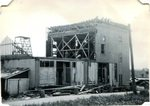 Tearing down the top floor of Eureka Hall - June 14, 1950