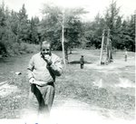 Pastor Scott Kerr - Stockholm class picnic - 08 Jun 1957