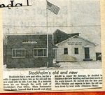 Newspaper Clipping of old and new Post Office.