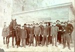 Men in front of Quimby-Trafton Mill