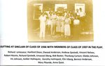 Class play with members of 1936 and 1937 - Outting in Sinclair, ME