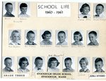 1960 - 1961 - Grade 3rd & 4th grade pictures