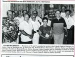 Newspaper clipping - 1993 - Catholic Order of Foresters Awards