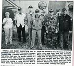 Newspaper clipping - 1993 - Carl & Birdina Sandstorm - Search of pilots