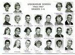 1966 - 1967 - Grade 5th & 6th grade pictures