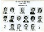 1966 - 1967 - Grade 7th & 8th grade pictures
