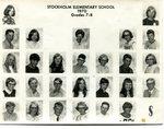 1970 - 1971 - Grade 7th & 8th grade pictures