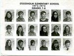 1973 - 1974 - Grade 7th & 8th grade pictures