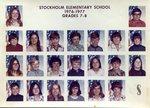 1976 - 1977 - Grade 7th & 8th grade pictures