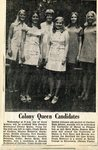 Newspaper clipping -  New Sweden Centennial Colony Queen contest