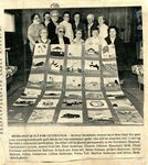 Newspaper clipping - 1981 - Heirloom quilt for centennial