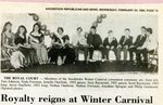 Newspaper clipping - 1993 - Royalty at Winter Carnival
