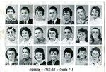 1962 -1963 - Grade 7th & 8th grade pictures