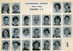 1965 - 1966 - Grade 3rd & 4th grade pictures