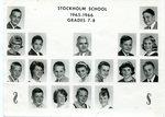 1965 - 1966 - Grade 7th & 8th grade pictures