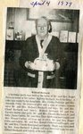 Newspaper Clipping - Wilfred Bechard 85th birthday