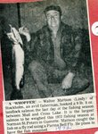 Newspaper Clipping - Walter (Lindy) Mattson