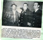 Newspaper Clipping - Delmar Brissette & Lewis Campbell