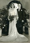 Gordon Benn  & Charlene Anderson's wedding picture- 16 Jun 1950