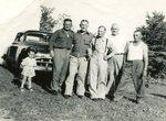 Jean Carlstrom; Arnold Palm; Gotfrid Borjeson; Peter Carlstrom; ? Peterson; Malcolm Carlstrom